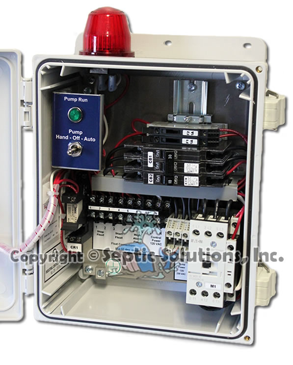 Simplex Control Panel Box Septic Solutions: Lift Station Wiring Diagram Alarm At Outingpk.com