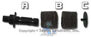 Gast Rotary Vane Septic Aerator Repair Kits Filters And