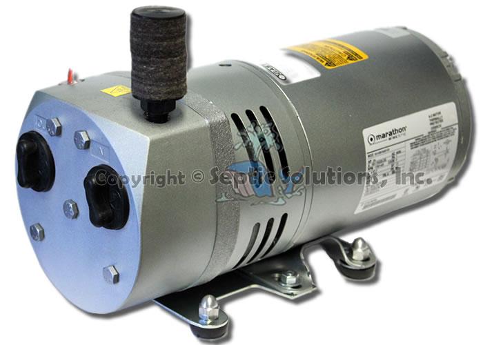 0523_14LG gast rotary vane septic air pump aerator new & rebuilt, rebuild gast 1023 wiring diagram at readyjetset.co