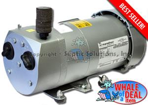 Nayadic septic air pumps alternative replacement septic for Septic tank aerator motor