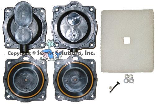 Hiblow hp gast hp linear septic air pump parts for all hp models hiblow hp linear septic air pump parts and rebuild kits ccuart Gallery