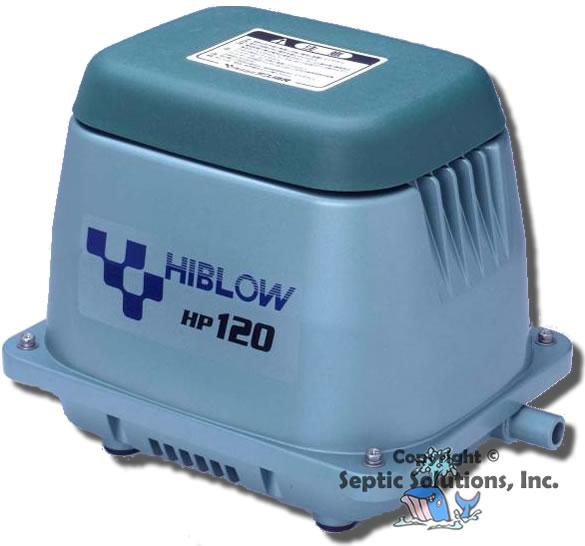 New Hiblow Hp 120 Septic Tank Air Pump Aerator Ebay