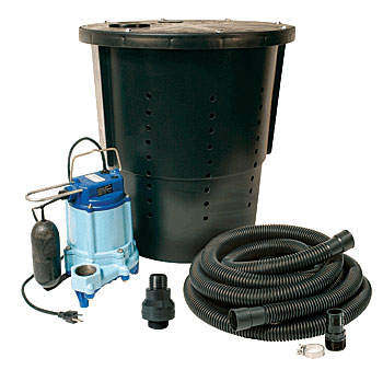 A sump pump in crawl space can be useful to drain out standing water due to heavy rain. A sump pump system or a sump pump is a suction pump that works to remove