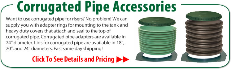 Polylok Septic Tank Risers, Lids, & Accessories