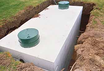 concrete septic tank lid replacement
