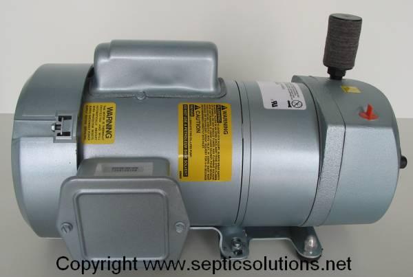 New gast at05 rotary vane septic air pump aerator ebay for Rotary vane air motor