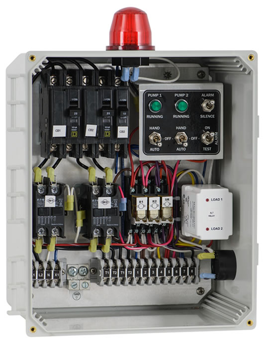 50A506_LG duplex control panels, control panels for duplex pump systems wiring diagram septic tank control at crackthecode.co
