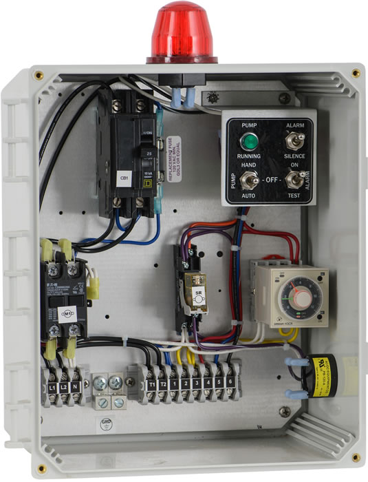Wiring Diagram Of Control Panel Box Of Submersible Water Pump : Septic motor control box free engine image for