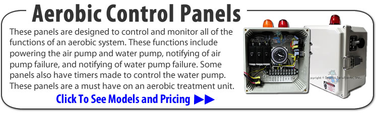 Control Panels And Control Boxes For Aerobic Septic Systems Simplex Pump Systems And Duplex Pump Systems