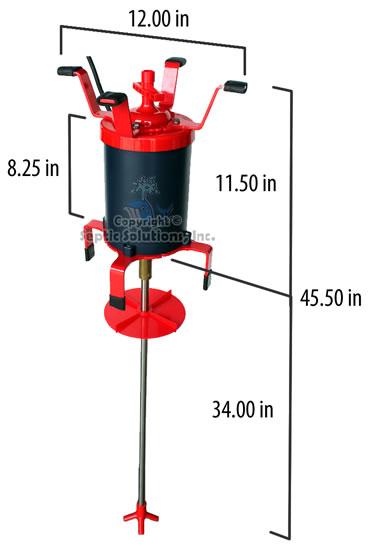 Septic tank aerator motor for Septic tank aerator motor